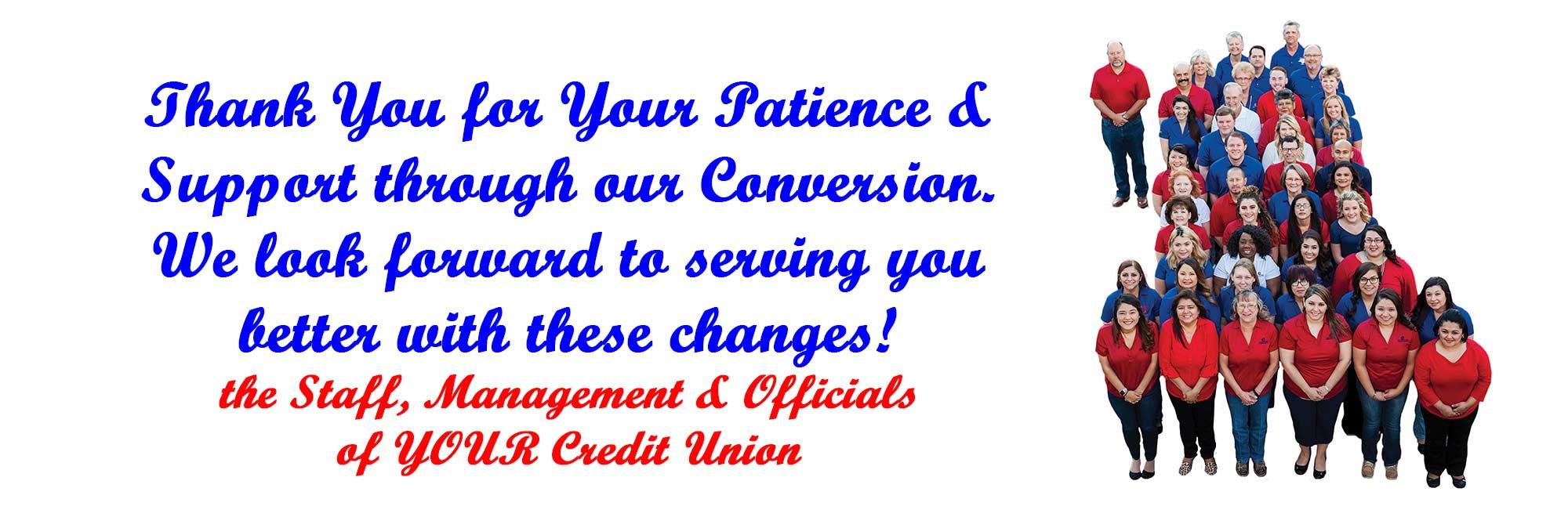 Conversion thank you