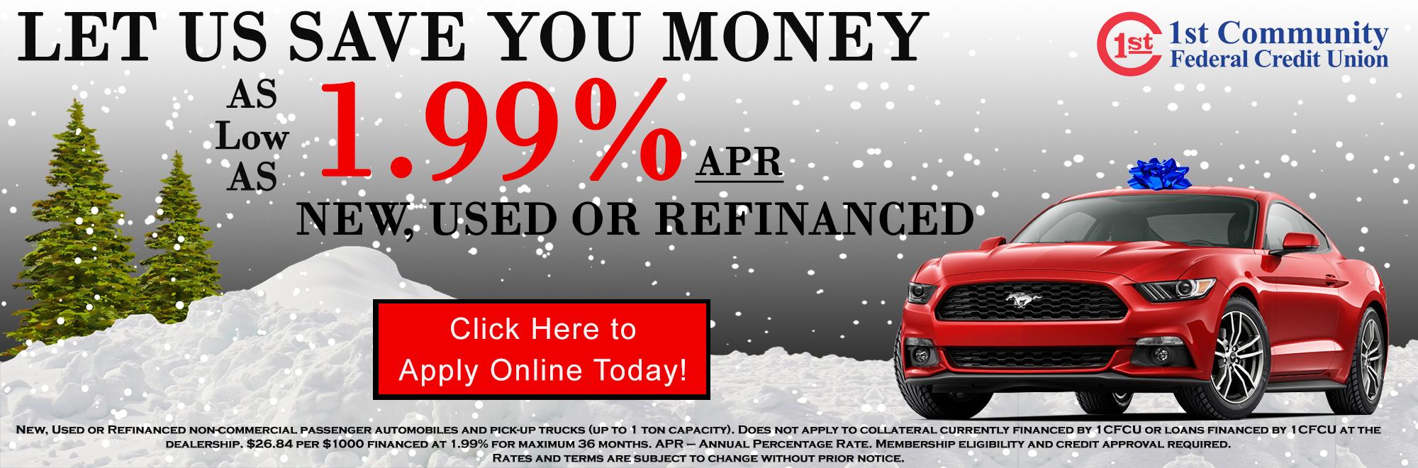 Christmas Auto Loans